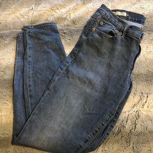Gap Low-rised Skinny Jeans